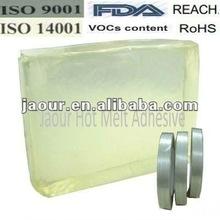 fiber glass tape hot melt glue(block shape)