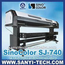 Sinocolor DX7 SJ740 Digital Inkjet Printer, 1440 dpi, BIG BANG TO MARKET