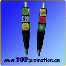 promotion novelty magic cube ball pen puzzle game pen