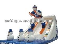 inflatable toboggan slide