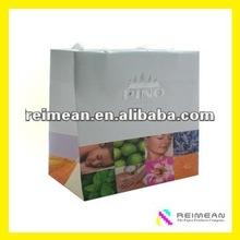 2012 World Luxury Brand black paper bags