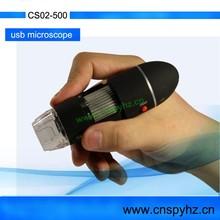 Protable Handheld 500X USB Digital Microscope Digital USB magnifier cs02-500