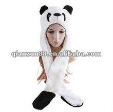 white panda winter hats