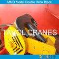 Modèle de grue forgeage crochet mmd, heavy duty crochet de la grue