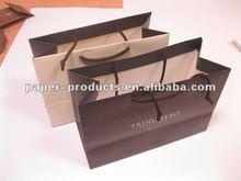 2014 hot sell custom chinese elegant purple paper gift bags
