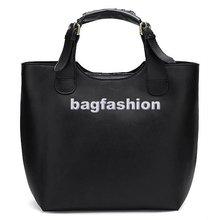 Vintage fashion PU Leather Celebrity Shopping Handbag