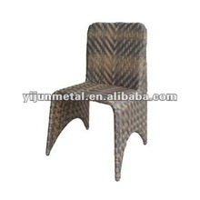 synthetic wicker outdoor stacking chair