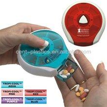 Press Button 7 Day Pill Case/Pill Box
