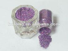 ".008"" Laser Purple Solvent resistance UV resistance glitter powder"