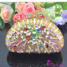 fashion rhinestone crystal clutch bag
