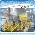 Continua del sistema utilizado para pirólisis de neumáticos de equipos con 15-20t/d de goma se utiliza la máquina de reciclaje