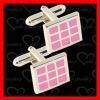 2012 brass wedding cufflinks with PNP plating CL0027-H002