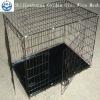 galvanized iron welded double doors dog cage