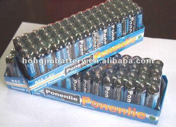 Radio, flashlight dry battery