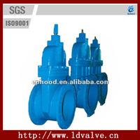 SUFA Brand DIN F4 NRS PN16 cast iron flange gate valve specification