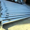 4m 5m 6m 8m 10m 12m quente galvanizado poste de luz, pólo de aço para as luzes de rua