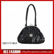 stripe print PU handbag,new model purses and ladies handbags,QQ1117