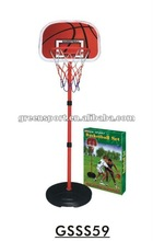 Basketball stand set adjustable hight outdoor game set