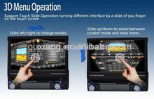 Full motorized flip down mechanism for panel motion Car dvd gp8300