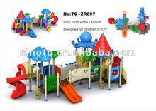 2012 On Sale Fancy Kids Outdoor Playground Equipment
