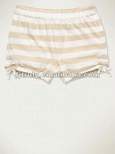 coton stripe baby hot pants