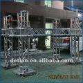 levantar la torre con heavy duty truss