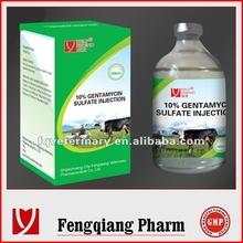 Antibiotic Gentamycin Sulfate Injection