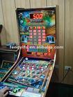 Metro 5.6.7 pinball game machine with bingo game