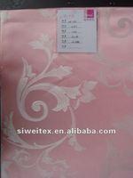flower design cut-out curtain fabric
