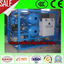 zyd vacío de alto voltaje del aceite aislante equipo de filtración