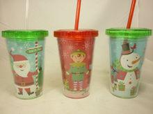 plastic Christmas cups