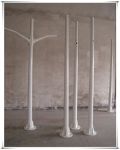 Outdoor FRP Lighting Pole M type arm pole - price list