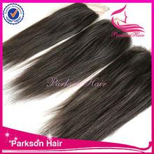 2014 new product lace closure natural color lace closure brazilian virgin hair lace closure