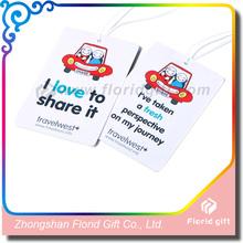 Promotional Paper Car Air Freshener,Custom Paper Air Freshener,Air Freshener for Car