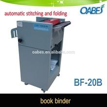 Alibaba china supplier booklet folder and stitcher saddle stitching maker machine, paper folding machine book binding machine