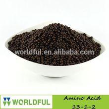 High Content Nitrogen Fertilizer, 13-1-2 Compound Amino Acid Granular