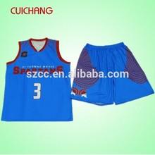 Cheap custom sublimation team basketball jersey MC-557