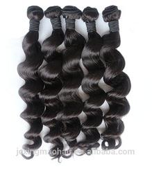 Grade 6A Peruvian Loose Wave Virgin Hair Unprocessed Human Hair Products Peruvian Virgin Hair Loose Wave