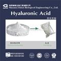 materia prima de bajo peso molecular a granel polvo de ácido hialurónico