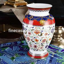 Luxury Fine New Bone China Antique Ceramic Flower Vase of Grand Banquet