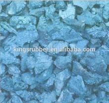 Rooster Rubber Ocean Blue Rubber Mulch 1.5 Cu Ft