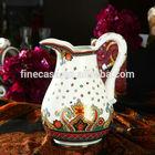 Luxury Fine New Bone China Ceramic Water Jug of Paisley