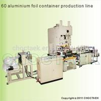 Airline aluminium foil food container making machine