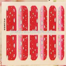 Thick Nail Decal Vinyl Sticker Nail Art