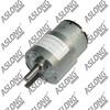 hot sale Aslong 6-24v 7-1280rpm dc gear motor dc Electric micro permanent magnet high torque motor