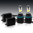 Car LED headlight bulb 9007 Hi/Lo beam auto headlight lighting system 2800lm Cree COB EMC built in fan low heat 9005 9006 9004