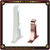 hot selling painting white aluminum cheap curtain brackets