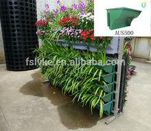 AUS500 balustrade planter, green wall plastic flower pots