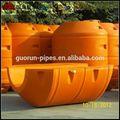 dragado de flotadores para tubería de polietileno de alta densidad con precio competitivo
