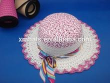 new design summer beach straw children hat